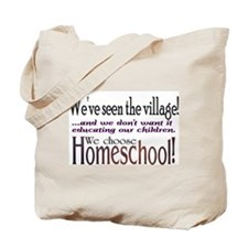 Cute Homeschool Tote Bag