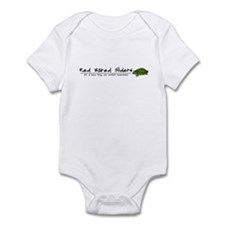 Herp Thing Red Eared Slider Baby Bodysuit