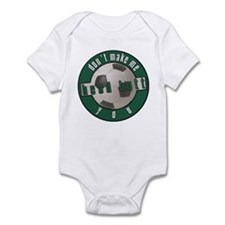 Don't Make Me HEAD BUTT You! Infant Bodysuit