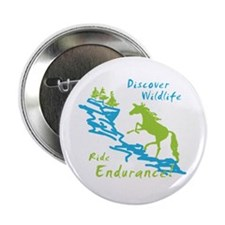 "Endurance Horse 2.25"" Button (10 pack)"