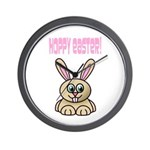 Hoppy Easter Wall Clock