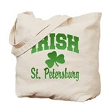 St. Petersburg Irish Tote Bag