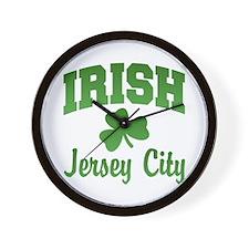 Jersey City Irish Wall Clock