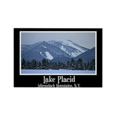 Lake Placid New York Rectangle Magnet (100 pack)