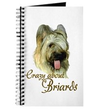 Briard Crazy Journal