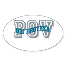 BIG BROTHER POV Oval Decal