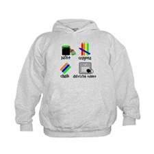 Art for Smart Babies Hoodie
