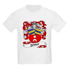 Jenner Family Crest Kids T-Shirt