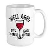 Over 20th Birthday Mug