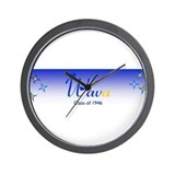 Funny Tau beta sigma Wall Clock