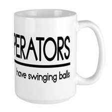 Crane Operator Joke Ceramic Mugs