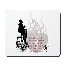 Redhead Demon Quote Mousepad