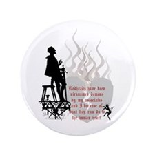 "Redhead Demon Quote 3.5"" Button"