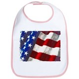 Americana Couture USA Flag Bib