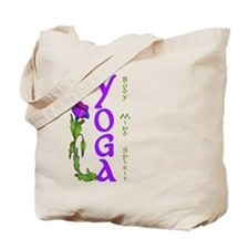Body, Mind, and Spirit Tote Bag