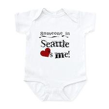 Seattle Loves Me Infant Bodysuit