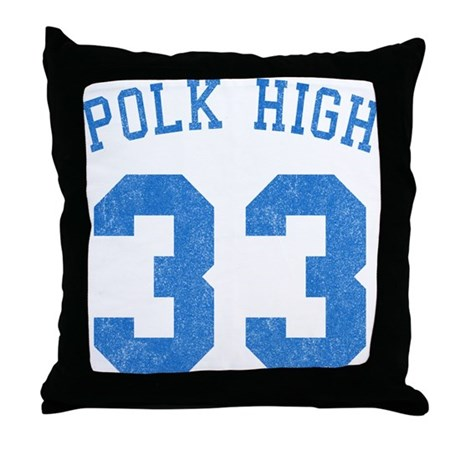 Polk High 33 Throw Pillow