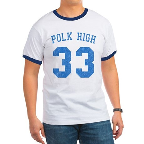 Polk High 33 Ringer T