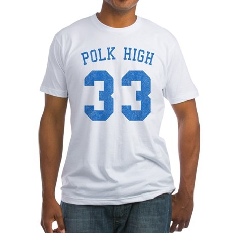 Polk High 33 Fitted T-Shirt