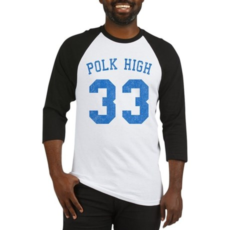 Polk High 33 Baseball Jersey