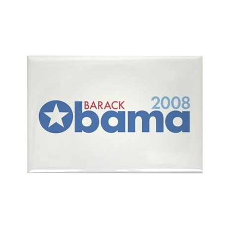 Barack Obama 2008 Rectangle Magnet (100 pack)