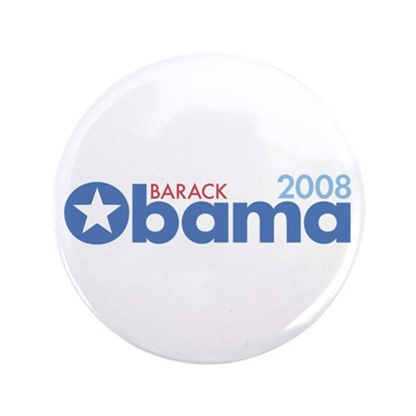 "Barack Obama 2008 3.5"" Button (100 pack)"