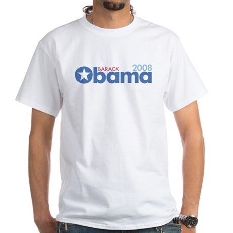 Barack Obama 2008 White T-Shirt
