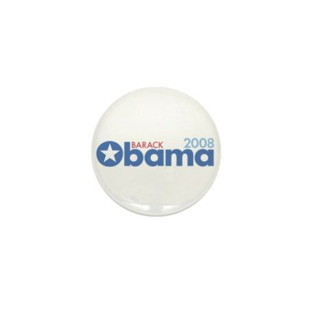 Barack Obama 2008 Mini Button