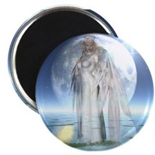 "Moon Angel 2.25"" Magnet (10 pack)"