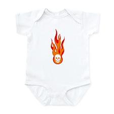 Blazing Skull Infant Bodysuit