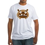 Fluffel Bruno! Fitted T-Shirt