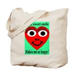Sweet Smile Tote Bag