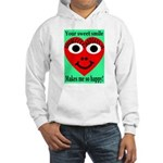 Sweet Smile Hooded Sweatshirt