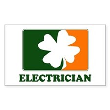 Irish ELECTRICIAN Rectangle Decal