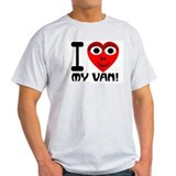 I (Heart) My Van Ash Grey T-Shirt