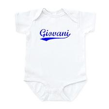 Vintage Giovani (Blue) Infant Bodysuit