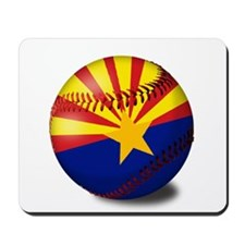 Baseball Arizona Flag Mousepad