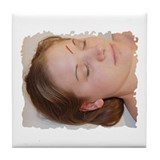 Acupuncture Tile Coaster