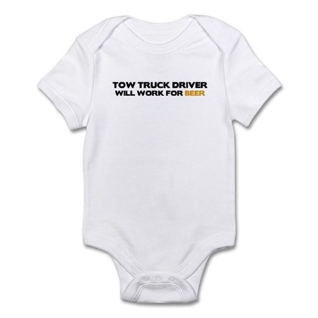 Tow Truck Driver Infant Bodysuit