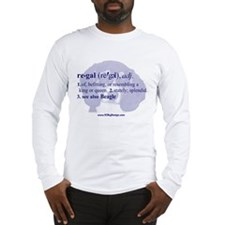Regal--Beagle Long Sleeve T-Shirt