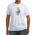 Masonic I am Fitted T-Shirt