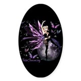 Butterfly Dance Oval Decal
