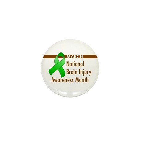 Brain Injury Month Mini Button