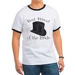 Top Hat Bride's Best Friend Ringer T