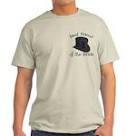 Top Hat Bride's Best Friend Light T-Shirt