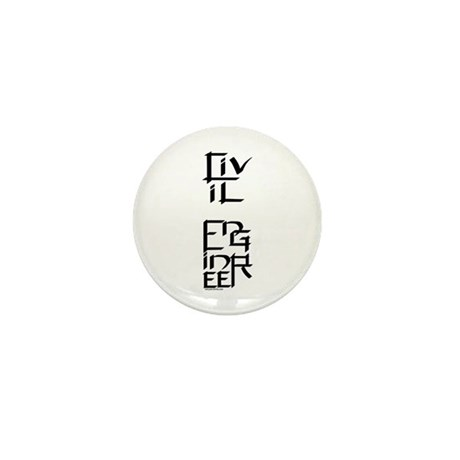 Civil Engineer Character Mini Button (10 pack)