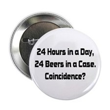 "24 Beer 2.25"" Button (100 pack)"