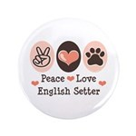 Peace Love English Setter 3.5