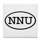 NNU Oval Tile Coaster