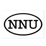 NNU Oval Postcards (Package of 8)